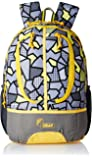 F Gear Dropsy 3D 22 Ltrs Casual Laptop Backpack (2252) - Yellow