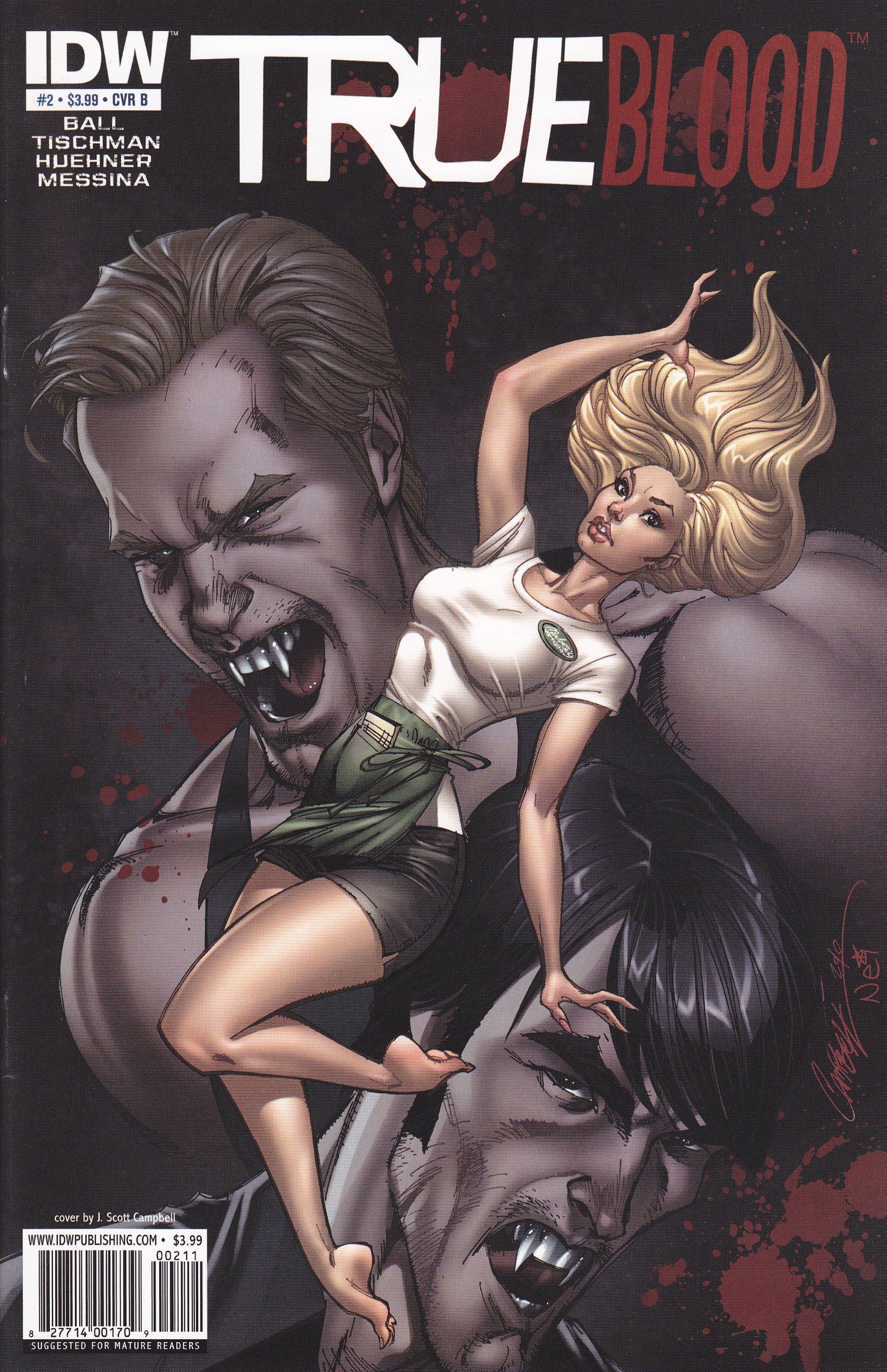 True Blood #2 Cover B pdf