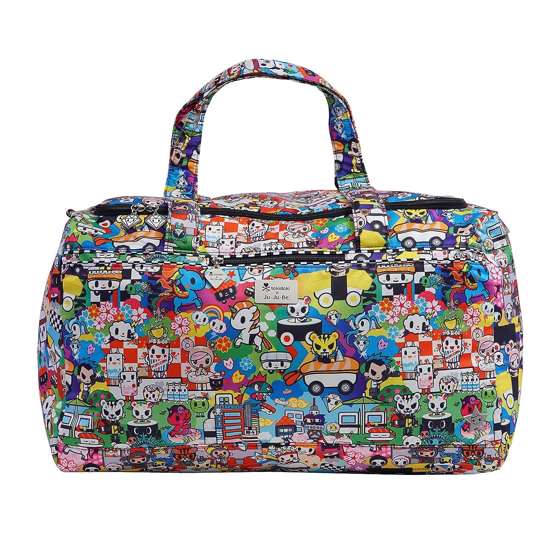 JuJuBe Super Star Oversized Weekender Travel Duffle Bag, Tokidoki Collection - Sushi Cars Ju Ju Be 13TD03AT SUS