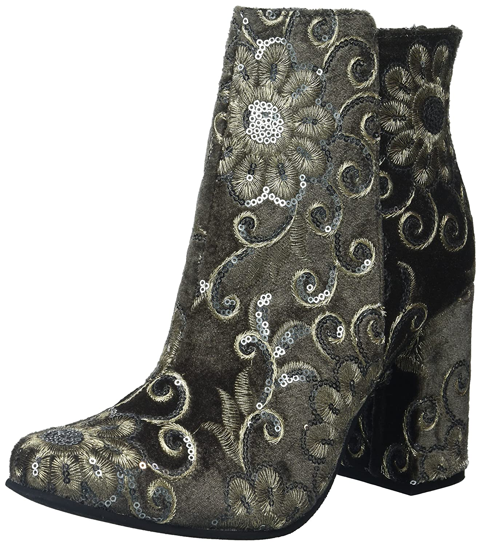 Naughty Monkey Women's Scarlett Ankle Boot B075FKYMBT 6.5 B(M) US|Grey