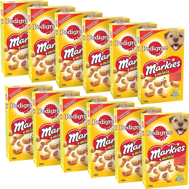 Pedigree Markies Trio Set de 10 Boîtes de Biscuits pour Chien 900 g 052054