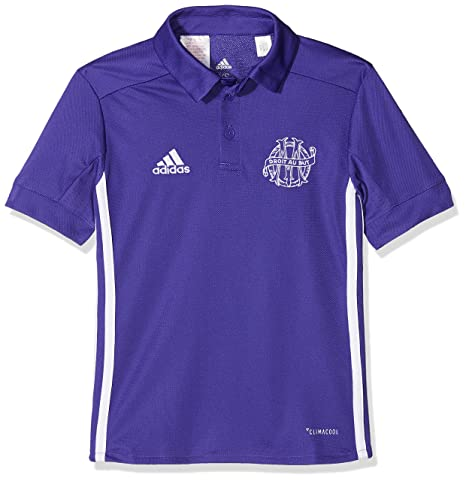 2e27df8397a Image Unavailable. Image not available for. Color  adidas 2017-2018  Olympique Marseille Third Football Soccer T-Shirt Jersey (Kids)