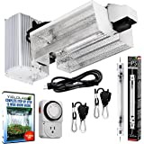 Yield Lab Pro Series 1000W HPS Double Ended Open Hood Grow Light Kit Easy Set Up Full Spectrum System For Indoor Plant And Hydroponics - Free Timer and 12 Week Grow Guide DVD