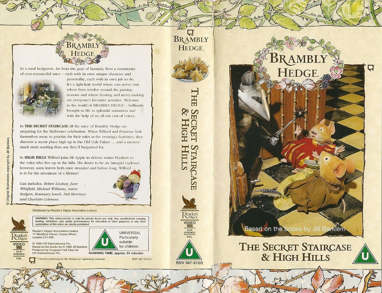 Brambly Hedge - The secret staircase / High Hills: Jill Barklem, June  Whitfield, Anton Rodgers, Rosemary Leach, Neil Morrissey, Brian Little,  Robert Lindsay ...