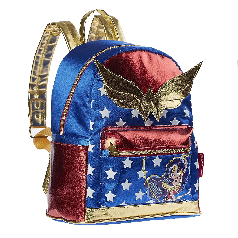 Karactermania DC Super Hero Girls Wonder Woman Mochila Infantil, 33 cm, Azul: Amazon.es: Equipaje