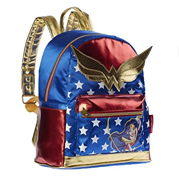 Karactermania DC Super Hero Girls Wonder Woman Mochila Infantil, 33 cm, Azul: Amazon.es: Equipaje