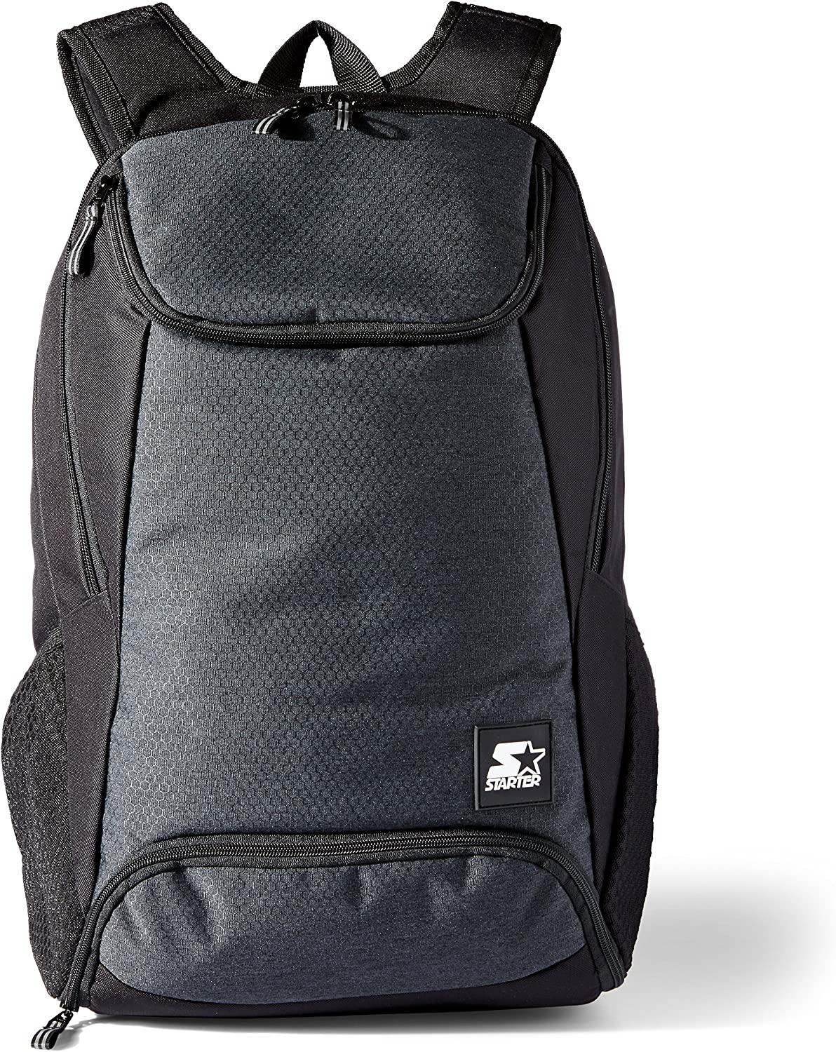 Starter Backpack with Laptop Sleeve and Shoe Pocket Black Exclusive One Size