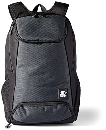 Starter BackPack With Shoe Pocket, Prime Exclusive, Black, One Size