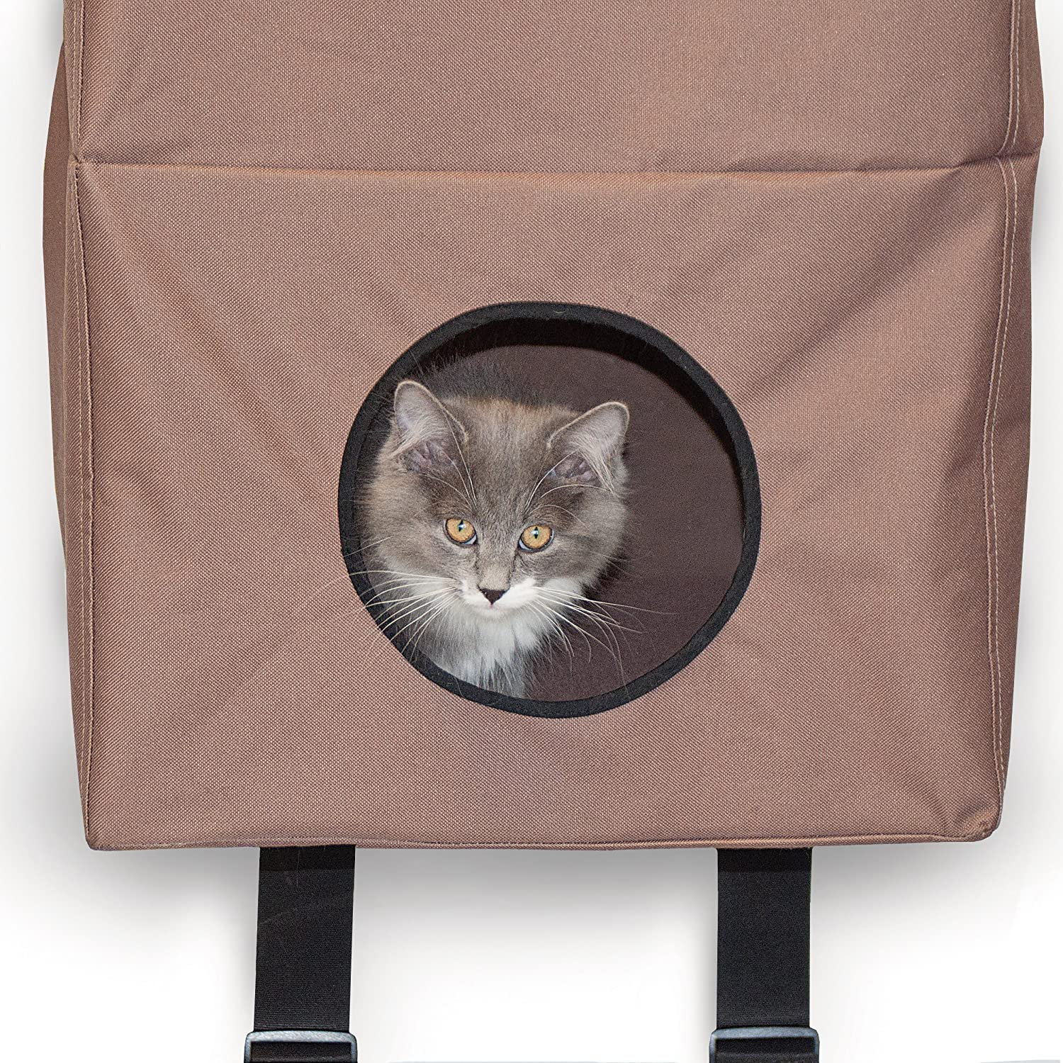 Amazon.com : K\u0026H Manufacturing Hangin\u0027 Cat Condo Large Tan 23-Inch by 16-Inch by 65-Inch : Cat Houses And Condos : Pet Supplies & Amazon.com : K\u0026H Manufacturing Hangin\u0027 Cat Condo Large Tan 23-Inch ... Pezcame.Com