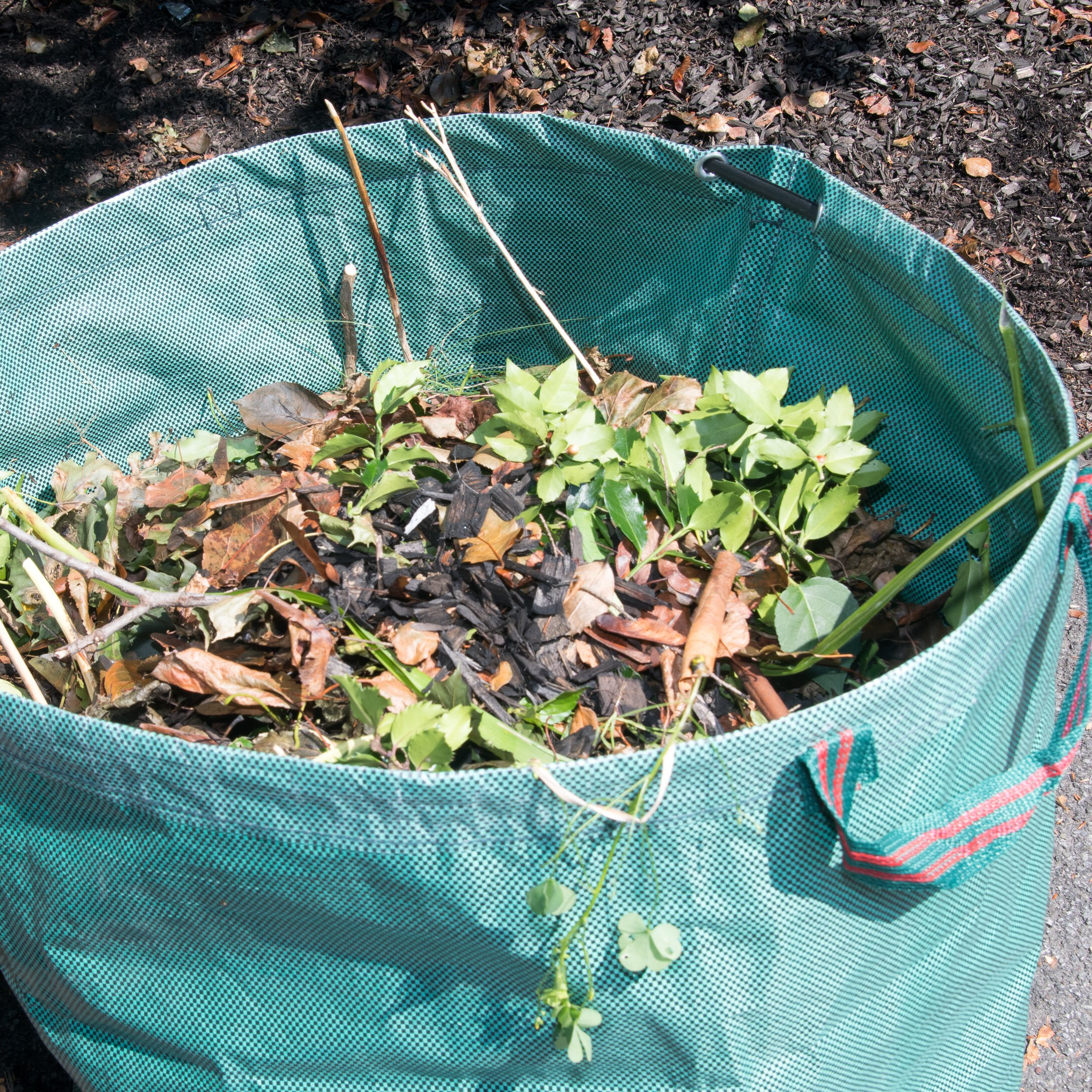 Mixitude Garden Hand Leaf Claw Scoops complete with Protective Wrist Pad and 72 Gallon Leaf Waste Bag by Mixtitude (Image #9)