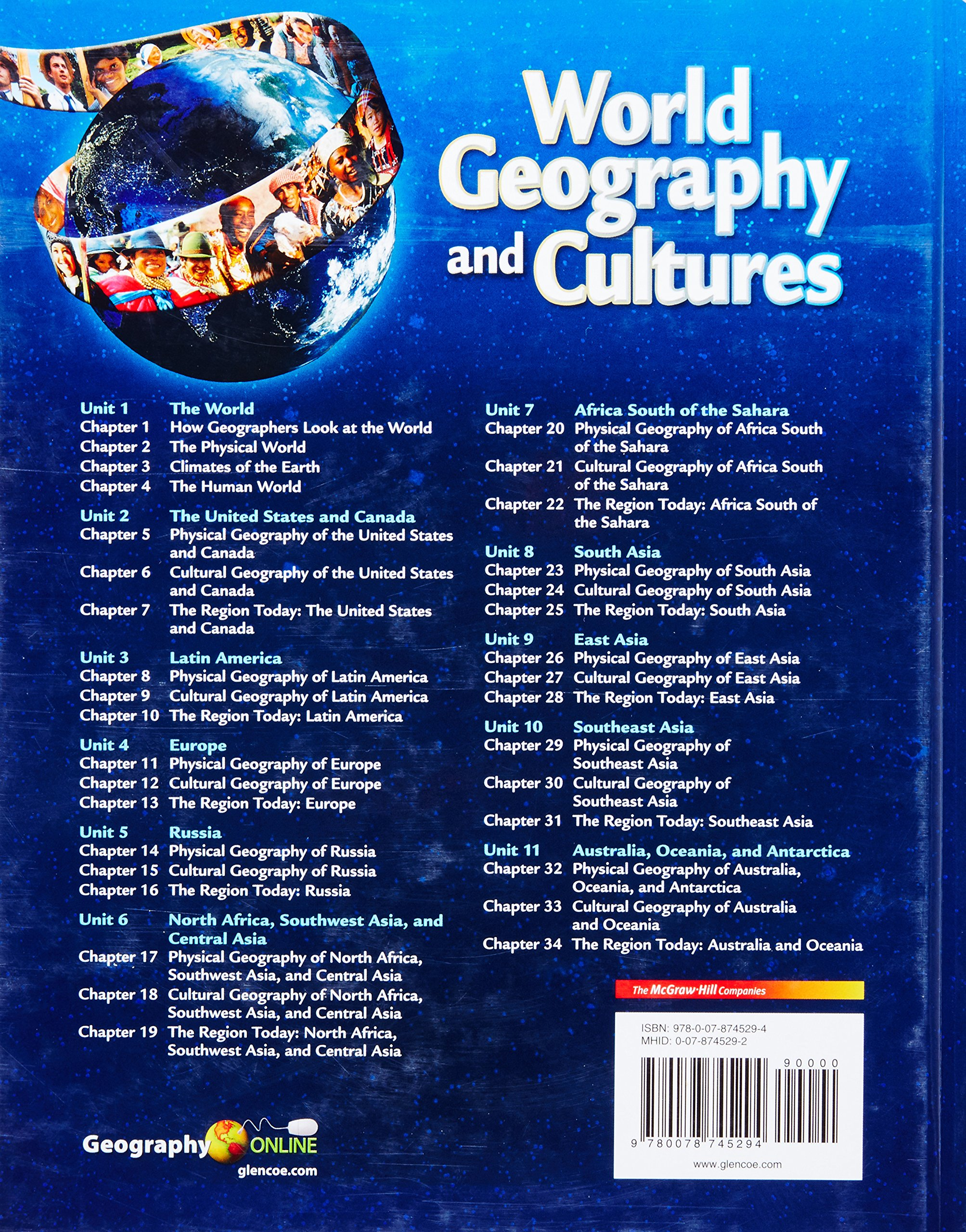 World Geography and Cultures, Student Edition: McGraw-Hill