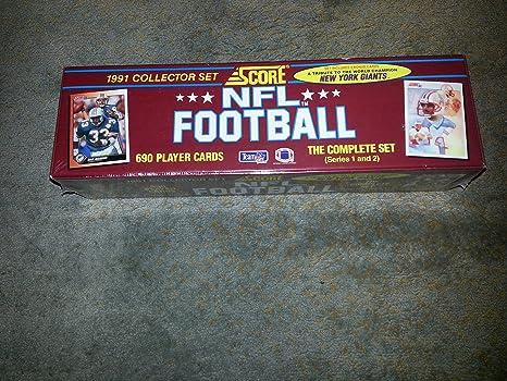 1991 Score NFL Football Collector Set Of 690 Cards Brett Favre Rookie Card
