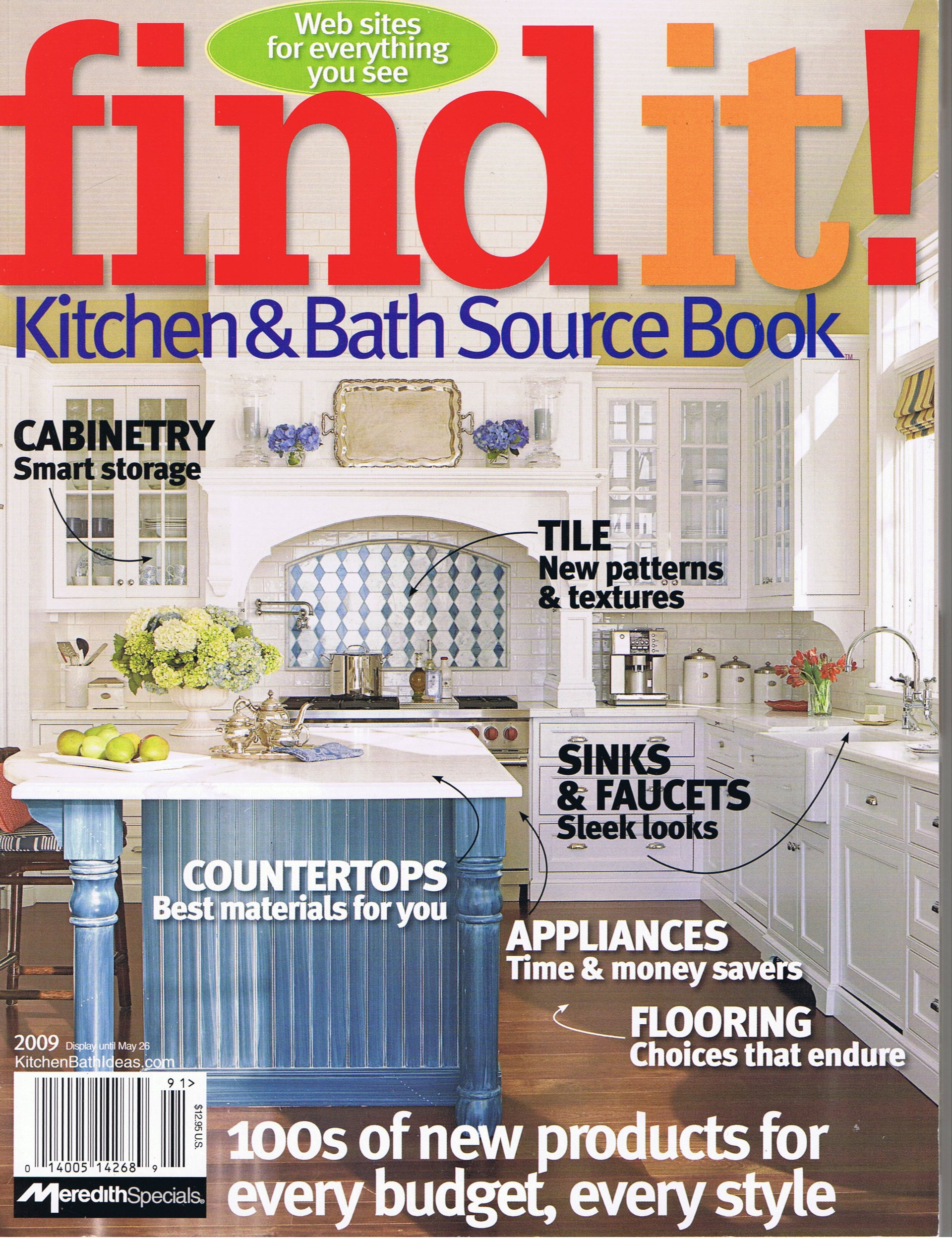 Find It Kitchen and Bath Source Book (May): Meredith ...