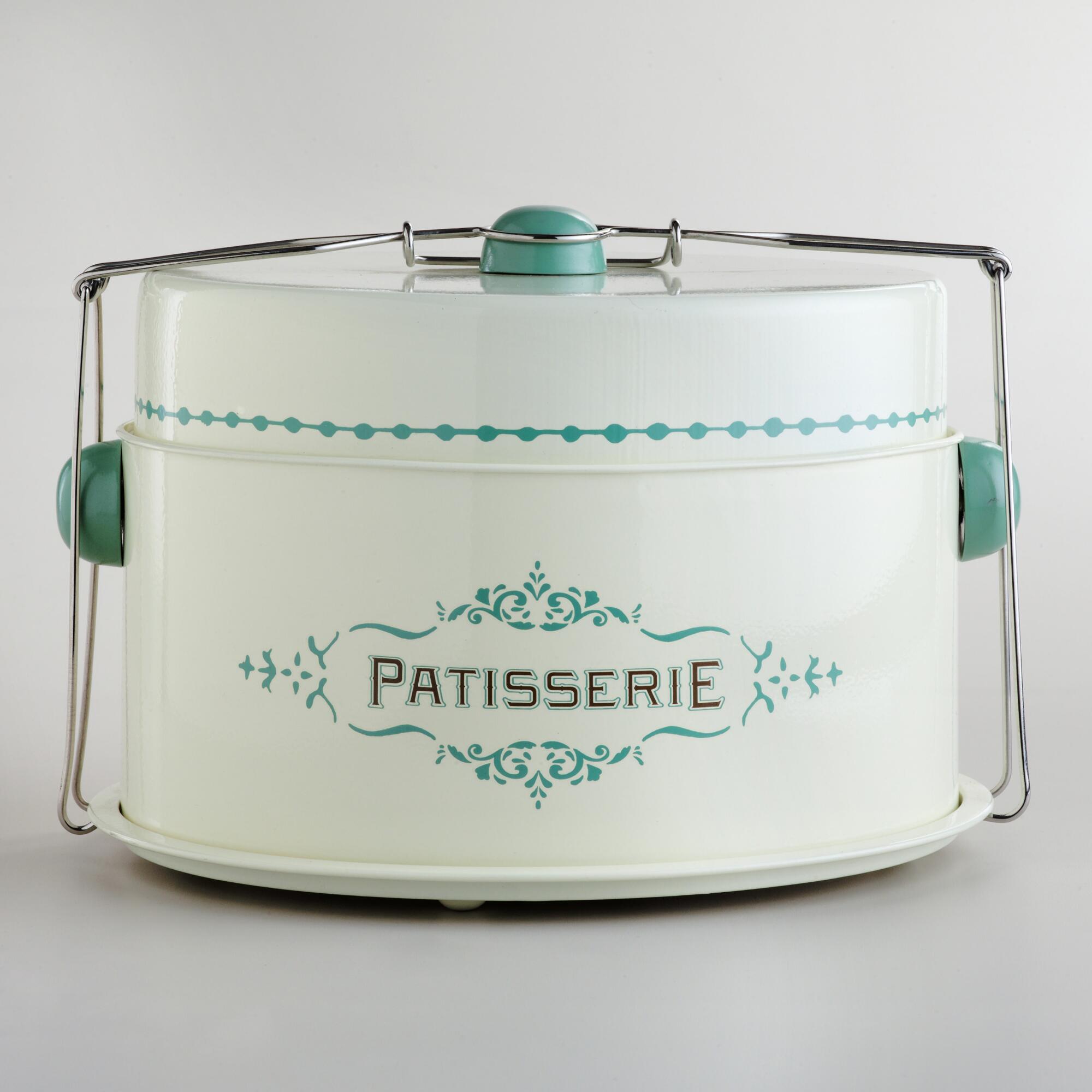 Cream Patisserie Cake Carrier | World Market