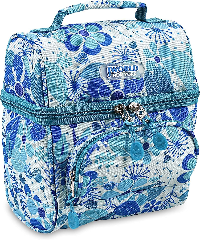 J World New York Corey Kids Bag Insulated Lunch-Box Women, Blue Vine, One Size