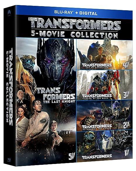 Transformers 5 Movie Collectio...