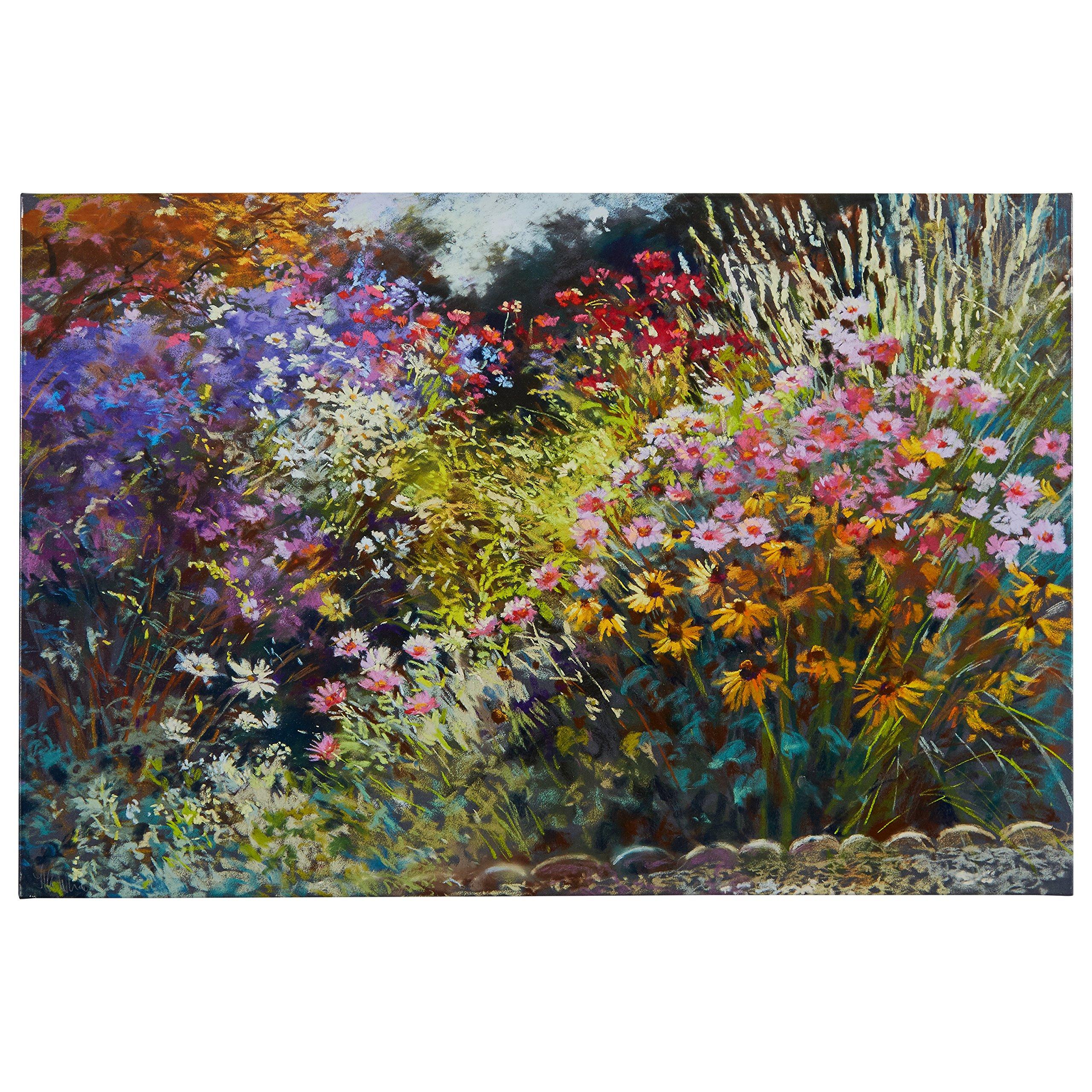 Modern Floral Print on Canvas, 45'' x 30''