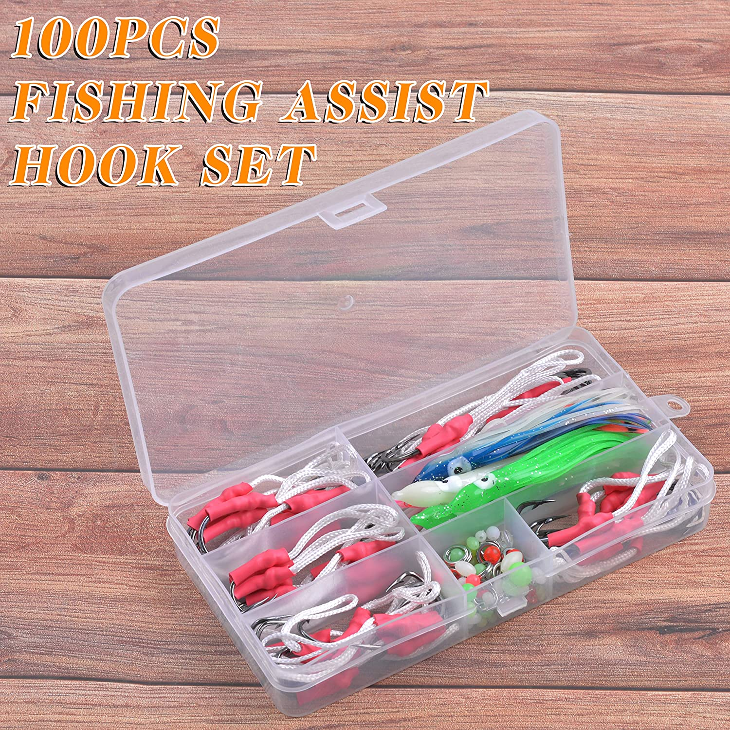 BRAID AQS FOR ASSIST HOOK RED