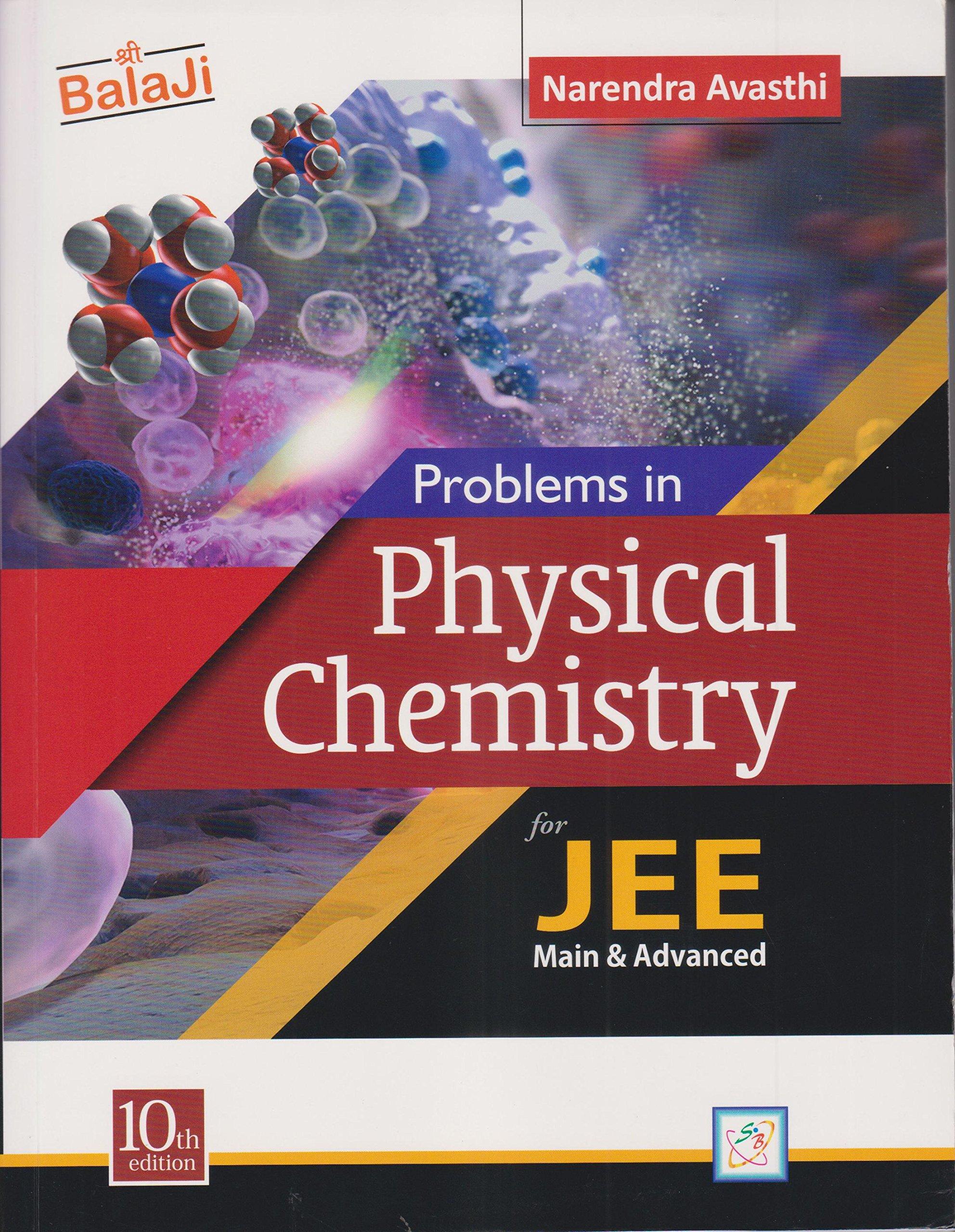 n avashti physical chemistry solution