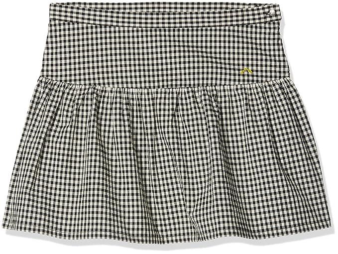 Nanos 1814514914, Falda para Niñas, Negro, One Size (Tamaño del Fabricante: