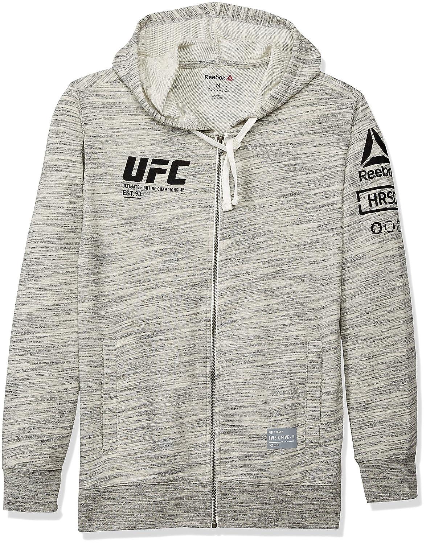 UFC Herren Fan Gear M Fz Hoodie, Weiß, Größe M
