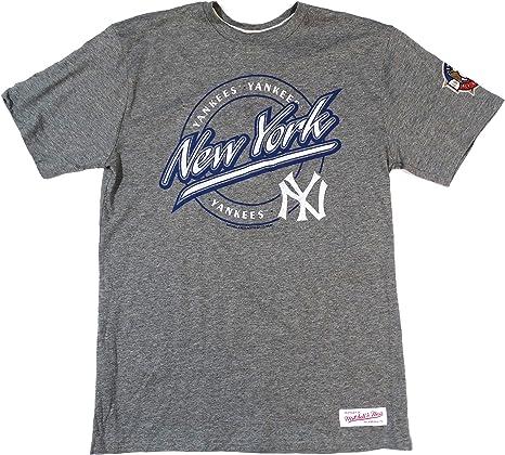 Mitchell & Ness – Gorra New York Yankees camiseta de manga corta T gris talla L: Amazon.es: Deportes y aire libre