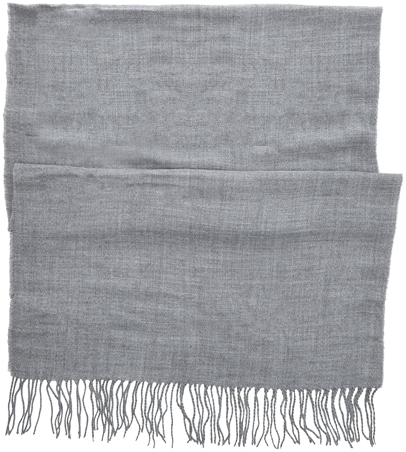 Womens Fluffy Pln Scarf, Grey, One Size (Manufacturer Size: 1) Dorothy Perkins