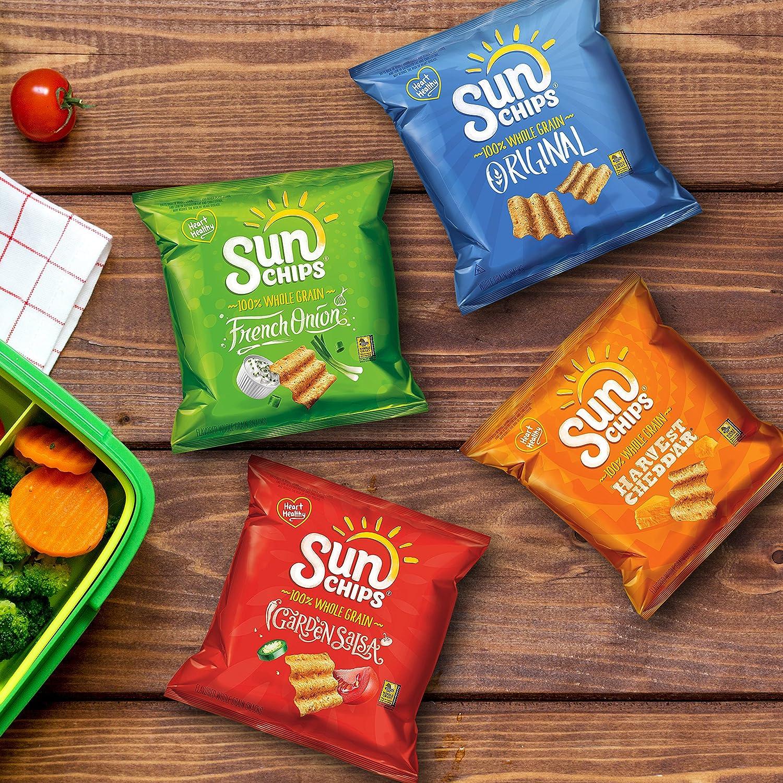 Amazoncom Sunchips Multigrain Snacks Variety Pack Pack Of 30