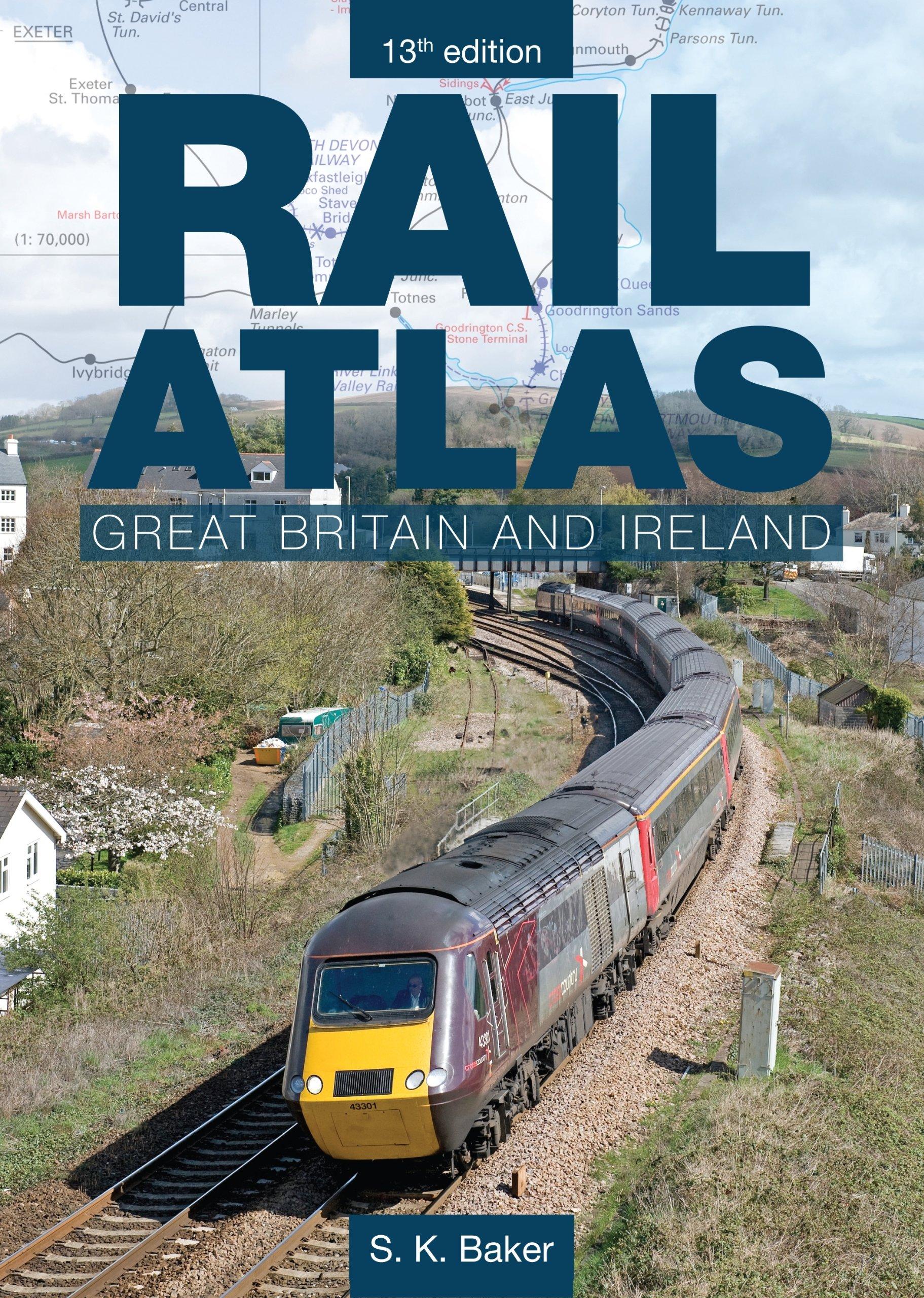 Rail Atlas Great Britain and Ireland: Amazon.es: Baker, S. K.: Libros en idiomas extranjeros