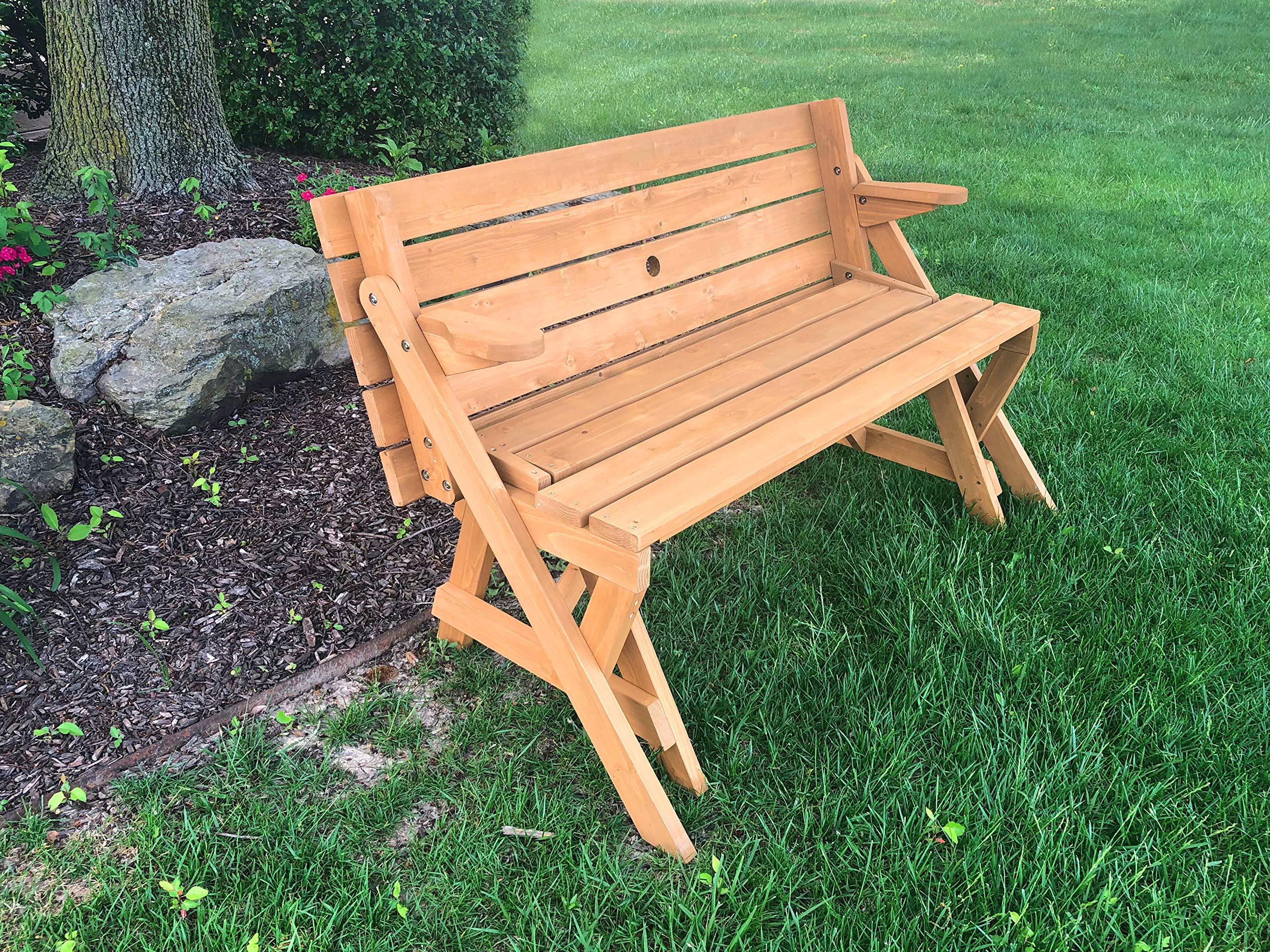 Tierra Garden 2-in-1 Convertible Junior Picnic Table/Bench by Tierra Garden (Image #5)