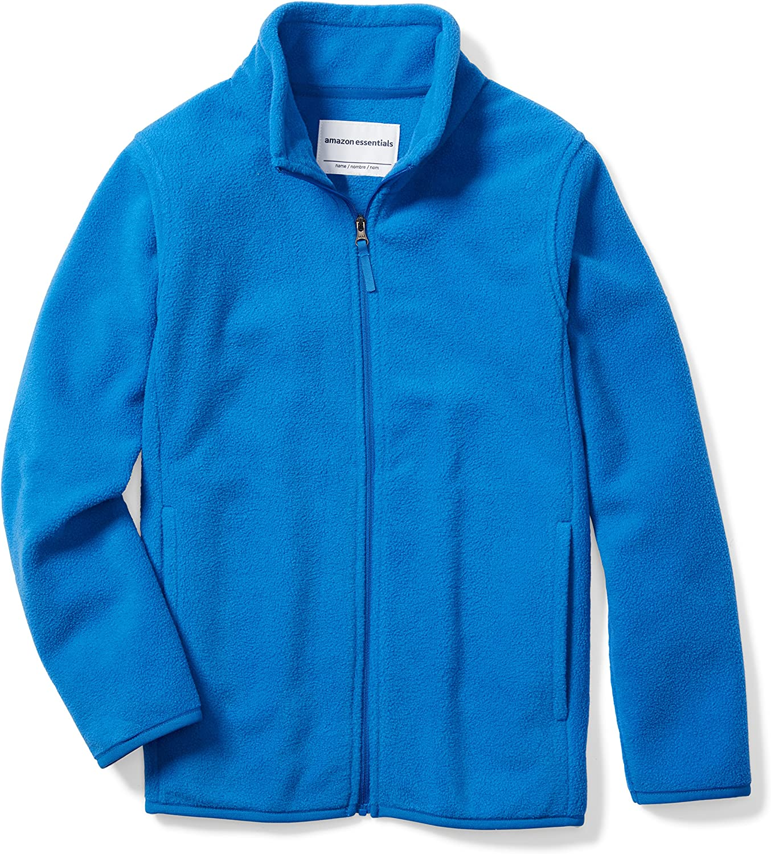 Essentials Boys Polar Fleece Full-Zip Jackets