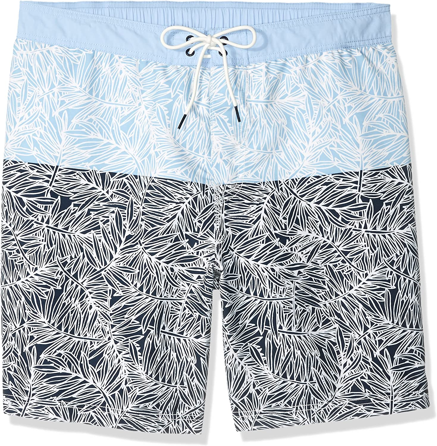 Nautica Men's Quick Dry Printed Swim Trunk
