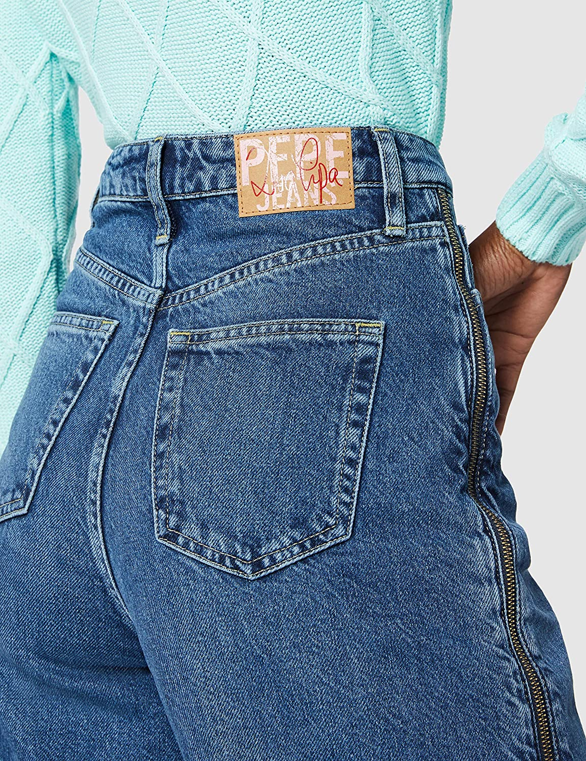 Pepe Jeans Mara Zip Jeans Straight Donna