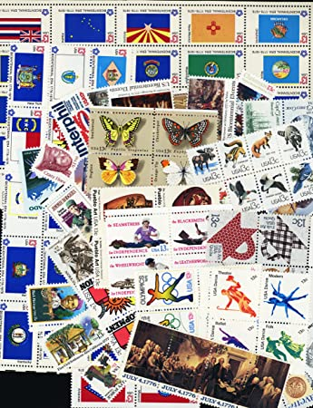 One Hundred 100 Unused 13 Cent US Postage Stamps All Valid To Be Used