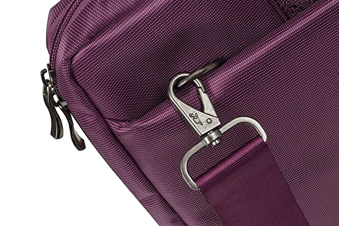 Amazon.com: Rivacase 15.6 inch Stylish Laptop Shoulder Bag w/Padded Compartment - Violet: Computers & Accessories