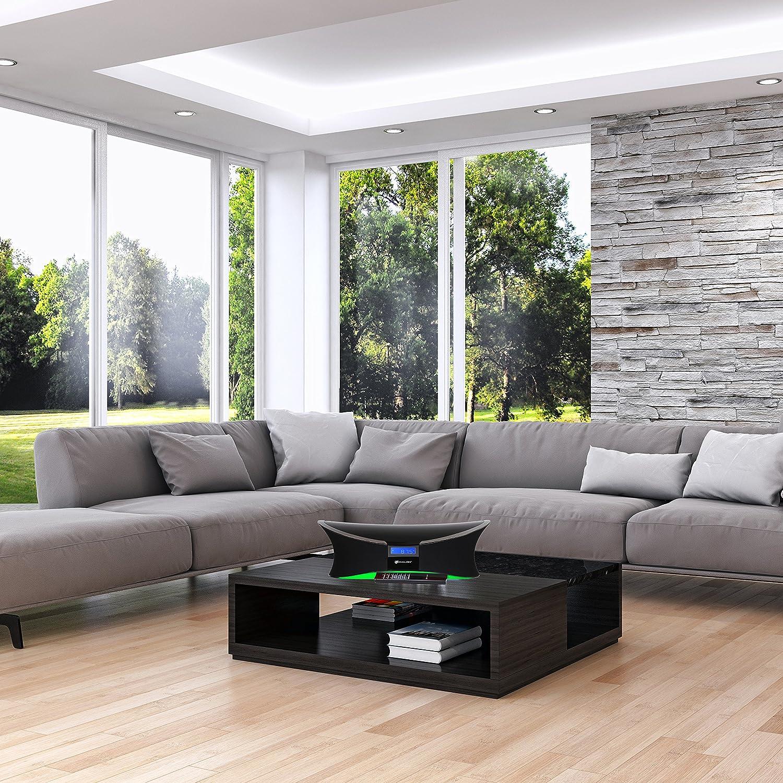 living room sound system. Amazon com  Avalon Bluetooth Sound System With Evensound Technology Black Home Audio Theater