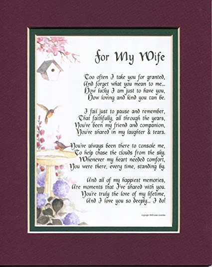 Amazon Com A Valentine S Day Gift Present Poem For A Wife 79