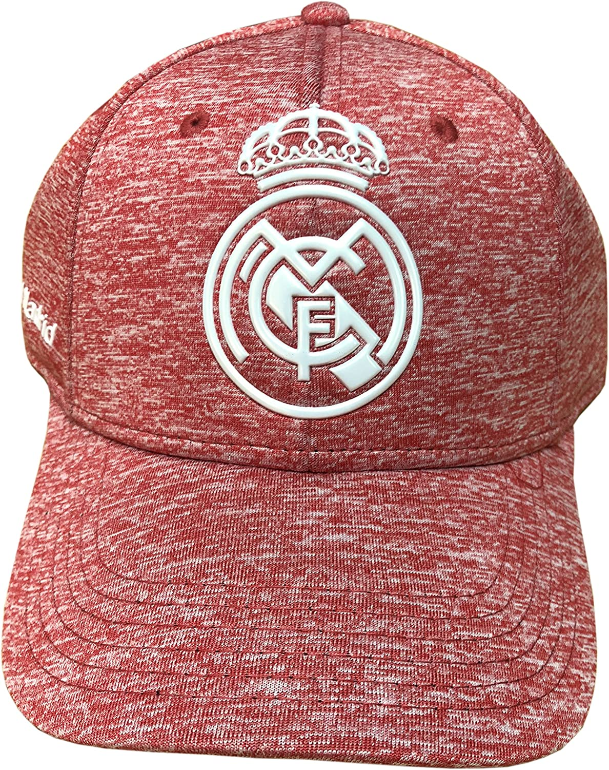 Gorra Oficial Real Madrid CF Rosa Jaspeado Adulto: Amazon.es ...