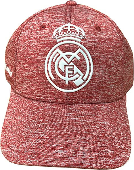 Gorra Oficial Real Madrid CF Rosa Jaspeado Adulto: Amazon.es ...