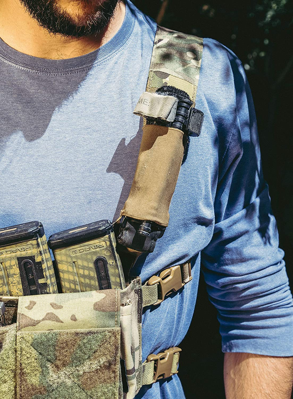 Funda torniquete t/áctico Militar Porte Oculto Cat Gen 7 Soft Color: Marr/ón Coyote EDC policial