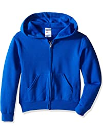 Jerzees Youth Full Zip Hooded Sweatshirt 6ba064cdd934d