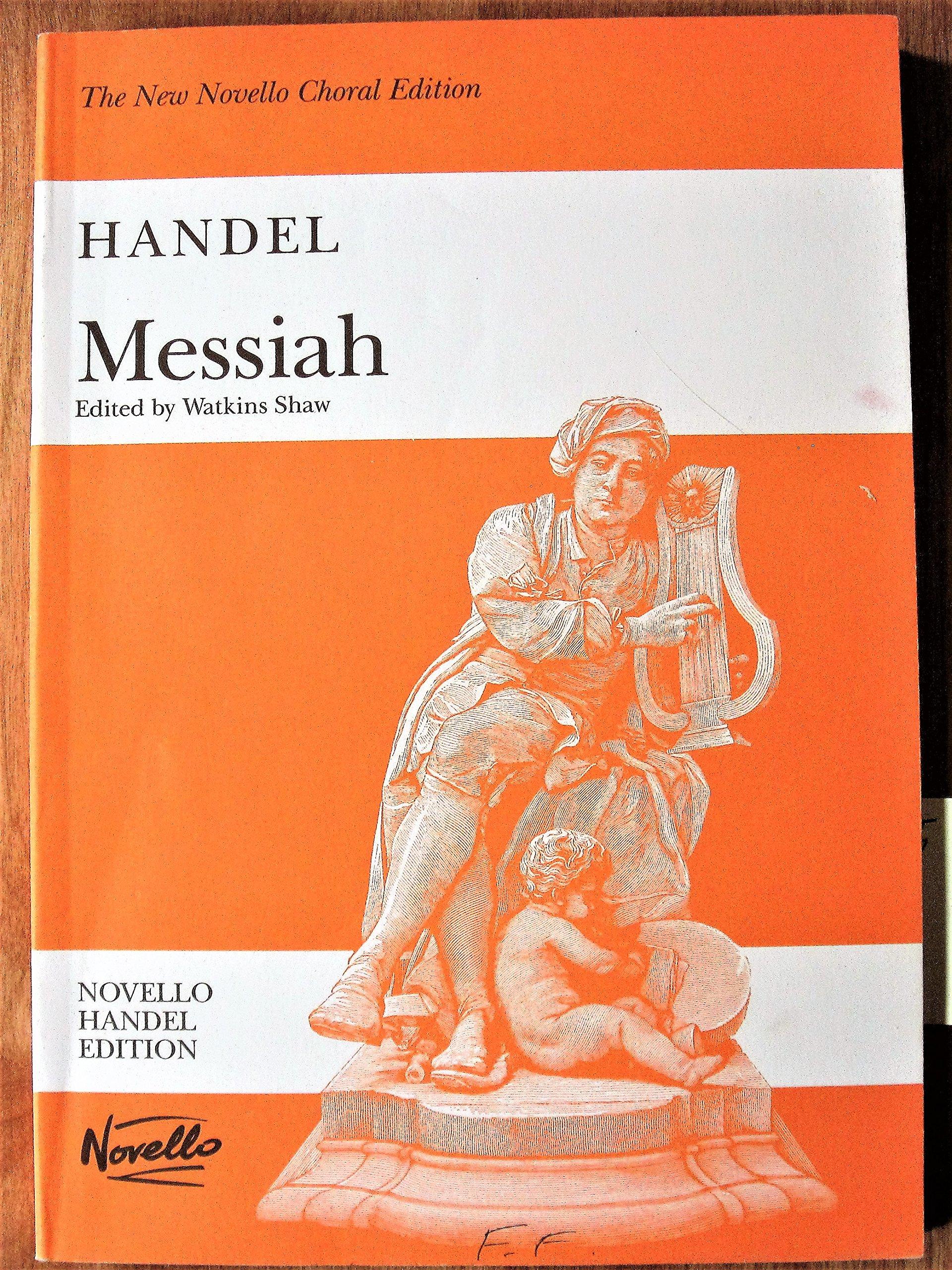 Handel: messiah the new novello choral edition promusica cork.