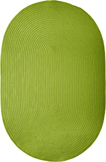 product image for Colonial Mills Boca Raton Area Rug 5x7 Bright Green