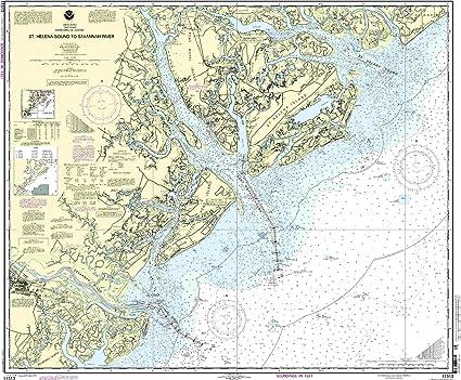Amazon.com: 11513 -- Santa Elena sonido para Savannah River ...