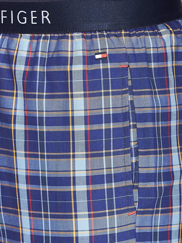 Tommy Hilfiger Woven Set LS Pijama Pack de 2 para Hombre