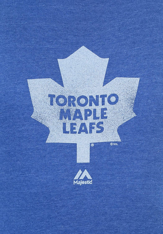 Majestic Boys Toronto Maple Leafs Mens Raise the Level Shirt Small