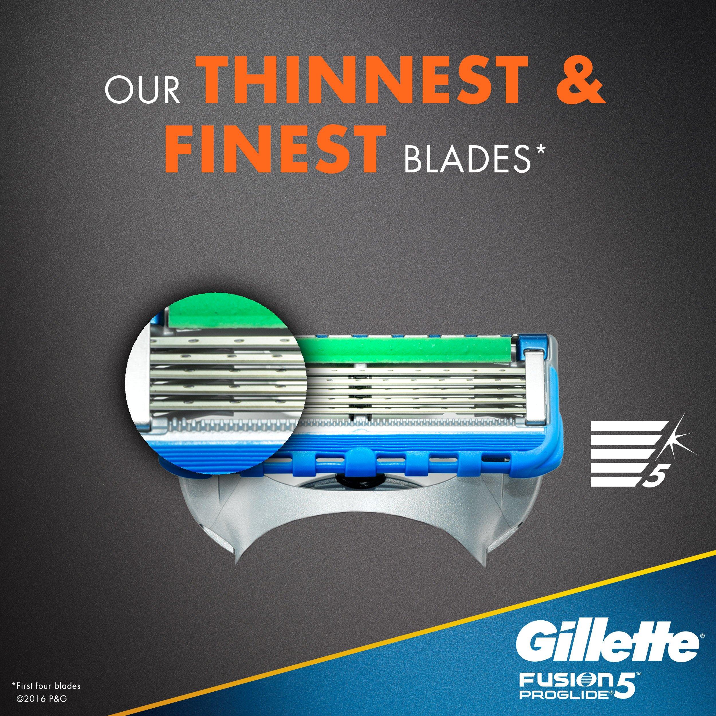 Gillette Fusion5 ProGlide Men's Razor Blades, 12 Blade Refills by Gillette (Image #6)
