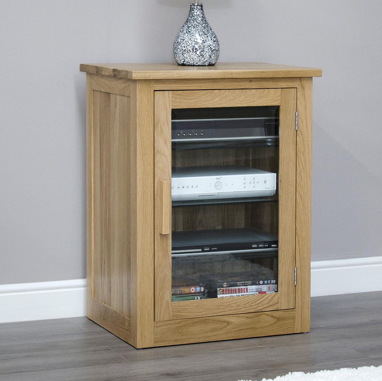 Arden Solid Oak Furniture Hi-Fi Cabinet: Amazon.co.uk: Kitchen & Home