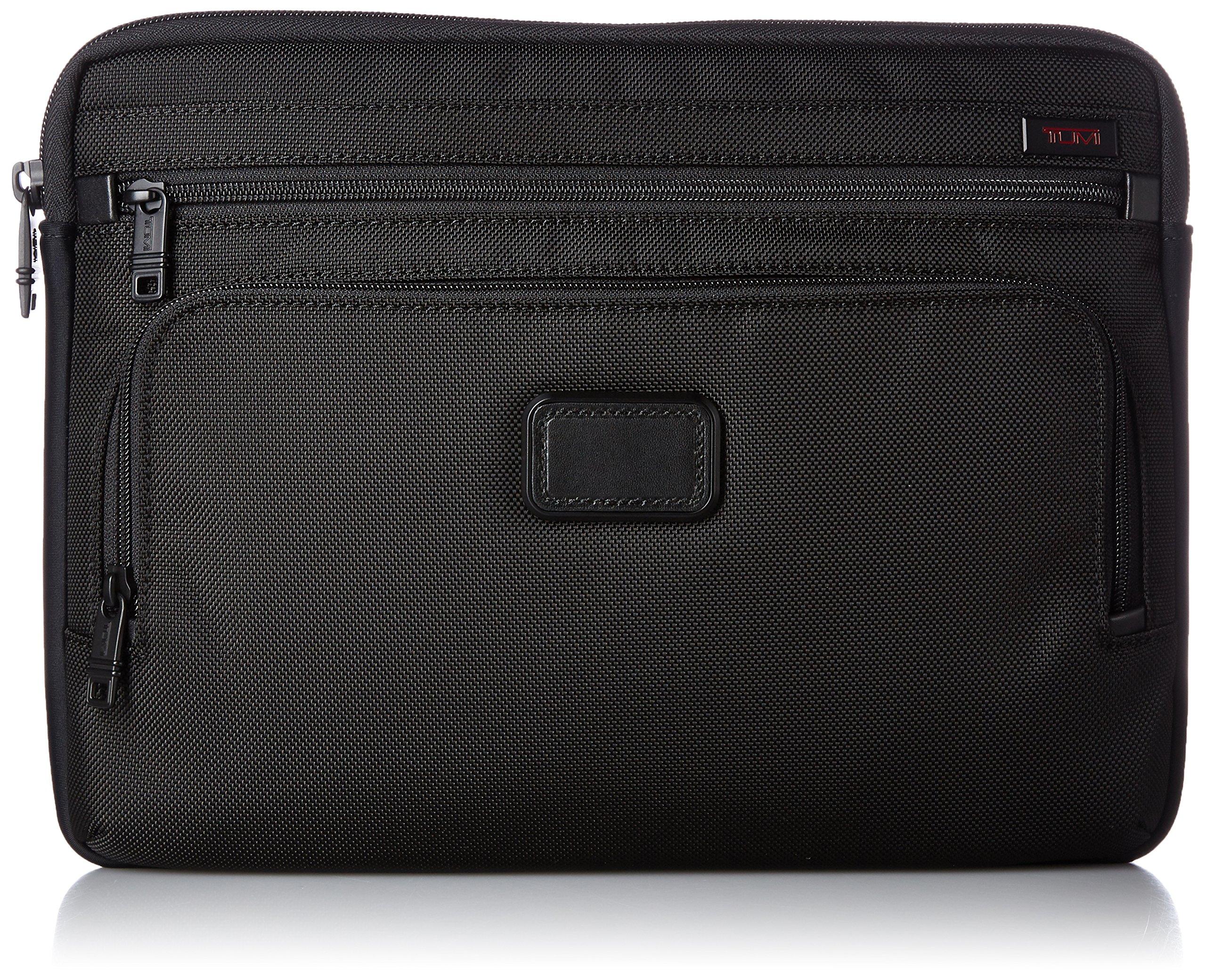 Tumi Alpha Large Laptop Cover, Black, One Size