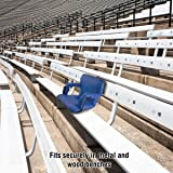 Home-Complete HC-3002-BLUE Wide Stadium Seat